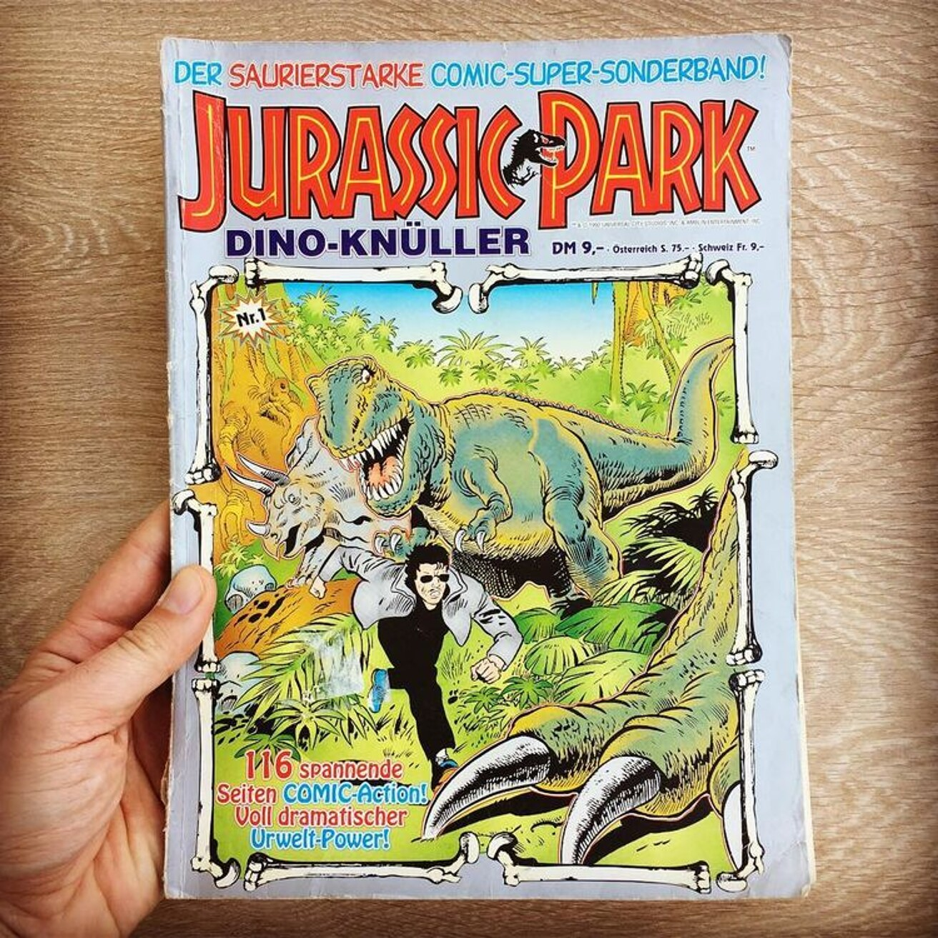 Jurassic Park Dino Knuller Comic Book German Item Golisto